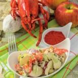 Homard et Crabe chez soi _ Salade homard pommes _ photo